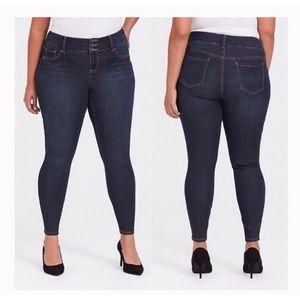 Torrid Jegging Skinny High Waist Jeans 22R